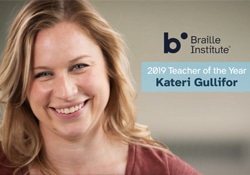 2019 Teacher of the Year Kateri Gullifor