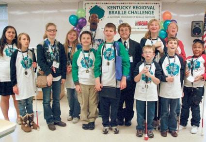 Kentucky Regional Braille Challenge