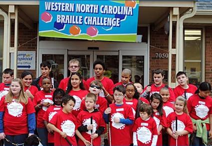 Western North Carolina Regional Braille Challenge