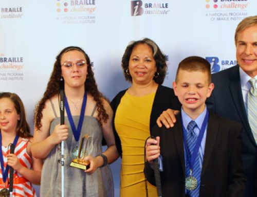 2015 Braille Competition Brings Out the Best