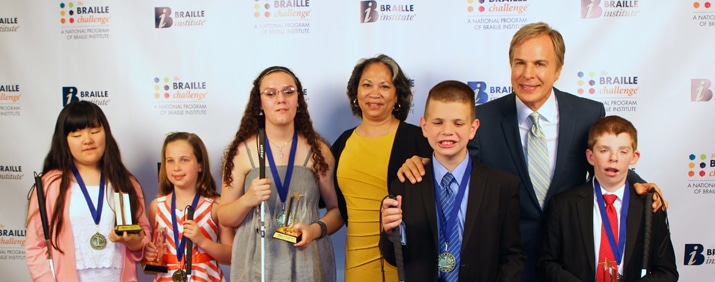 2015 Braille Challenge Winners