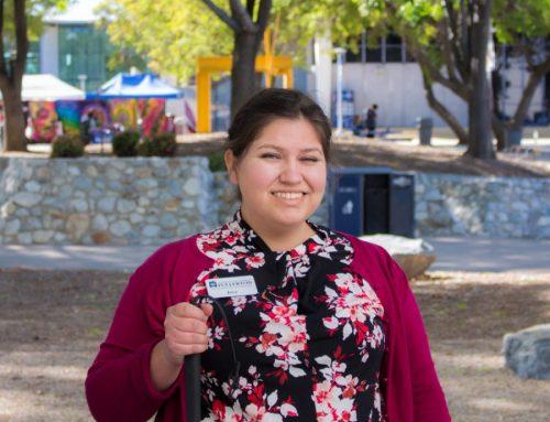CSUF Student And Award-Winning Artist Josephine Hernandez Overcomes Visual Impairment