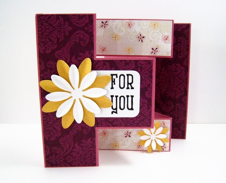 "Decorative greeting cards and the words ""For you"""