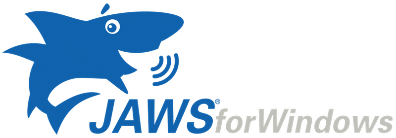 "A shark figure and the words ""Jaws for Windows"""