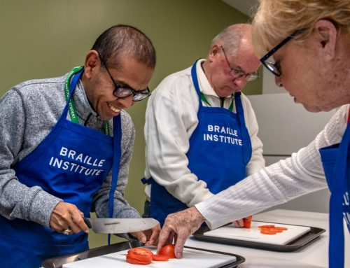 A New Home For Braille Institute