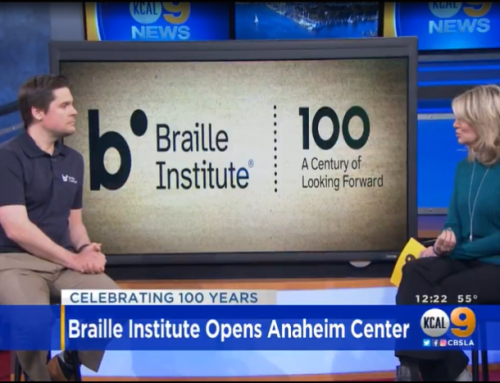 Braille Institute Opens New Center In Anaheim