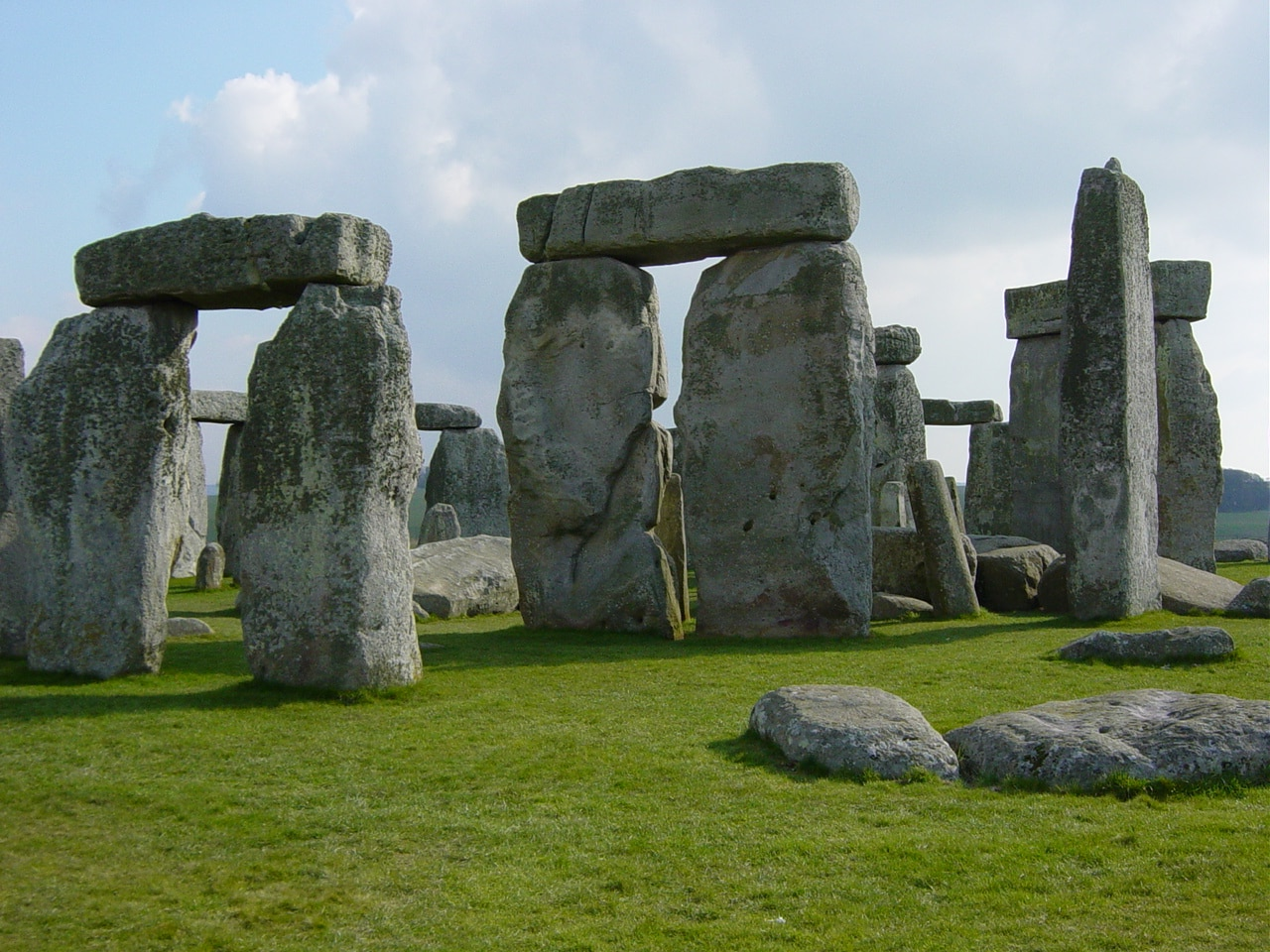 Stonehenge, a portion of the grounds