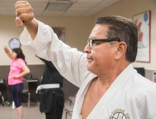 Sight-impaired learn karate in Rancho Mirage. Here's how the sport has changed their lives.