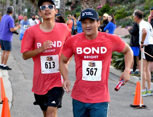 Braille Institute Students Are On the Run In Santa Barbara's Nite Moves 5K