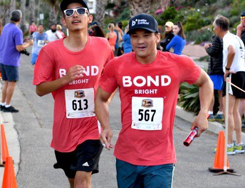Braille Institute Students Are On the Run In Santa Barbara's Nite Moves 5K
