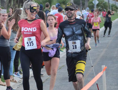 Visually Impaired Athletes Conquer Nite Moves 5K