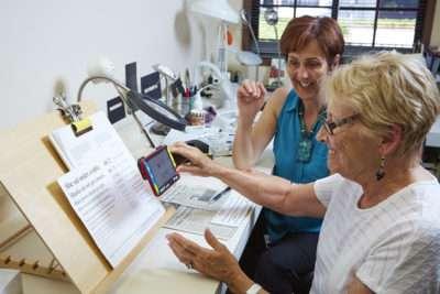 Braille Institute Low Vision Consultation