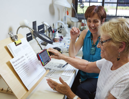Vision Rehabilitation Specialist – Helping the Legally Blind See Again