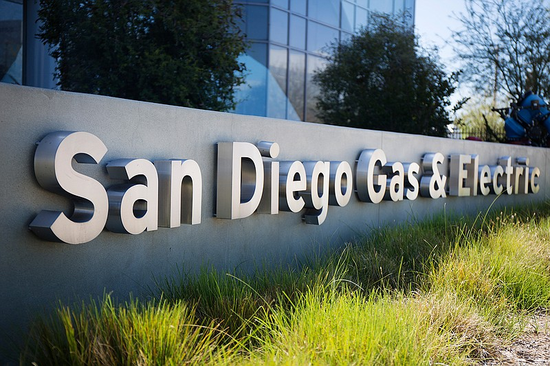 San Diego Gas and Electric signage