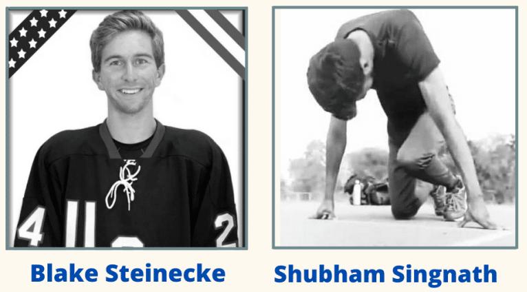 Profile photo of Blake Steinecke and Shubham Singnath