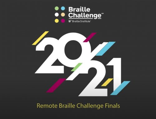 WINNERS OF 2021 BRAILLE CHALLENGE FINALS ANNOUNCED